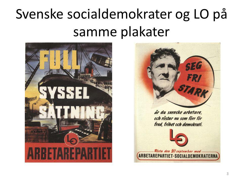 3 Svenske socialdemokrater og LO på samme plakater 3