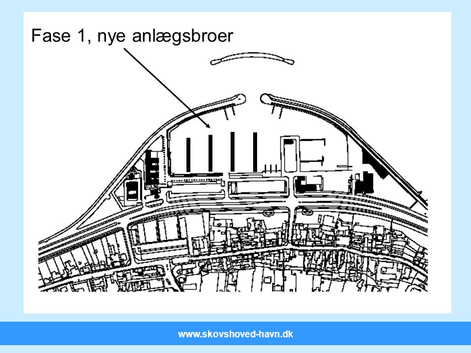 www.skovshoved-havn.dk Fase 1, nye anlægsbroer