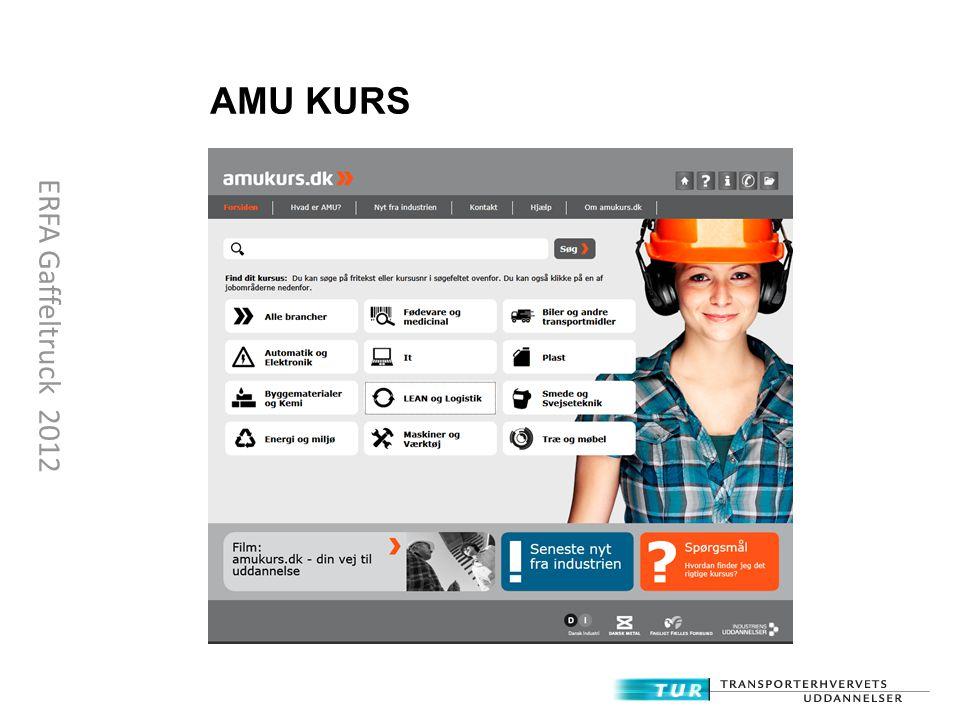 AMU KURS ERFA Gaffeltruck 2012