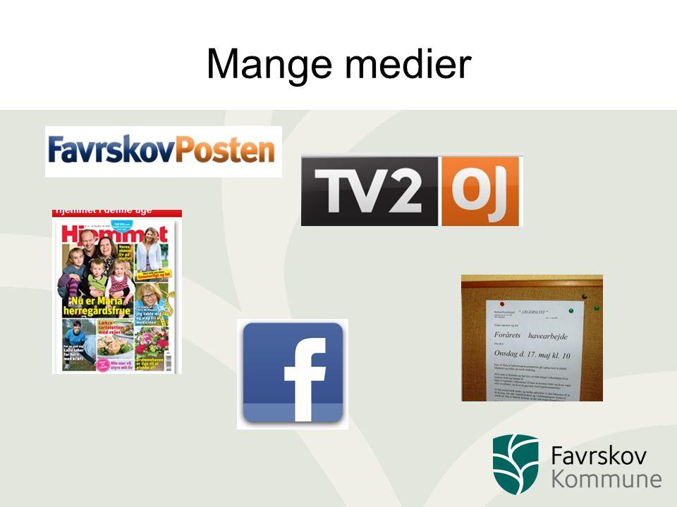Mange medier