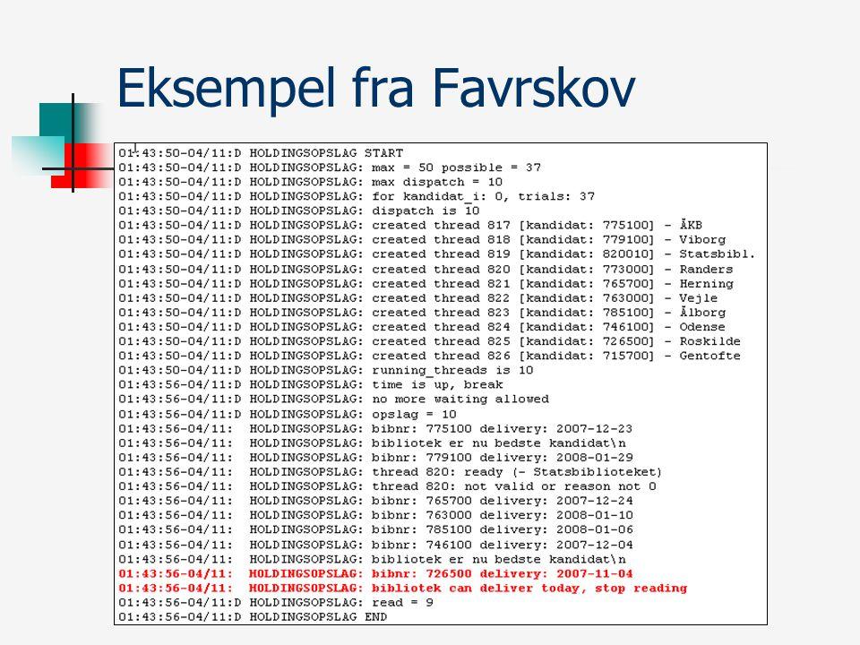 Eksempel fra Favrskov