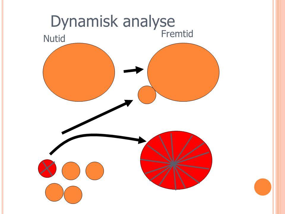 Dynamisk analyse Nutid Fremtid