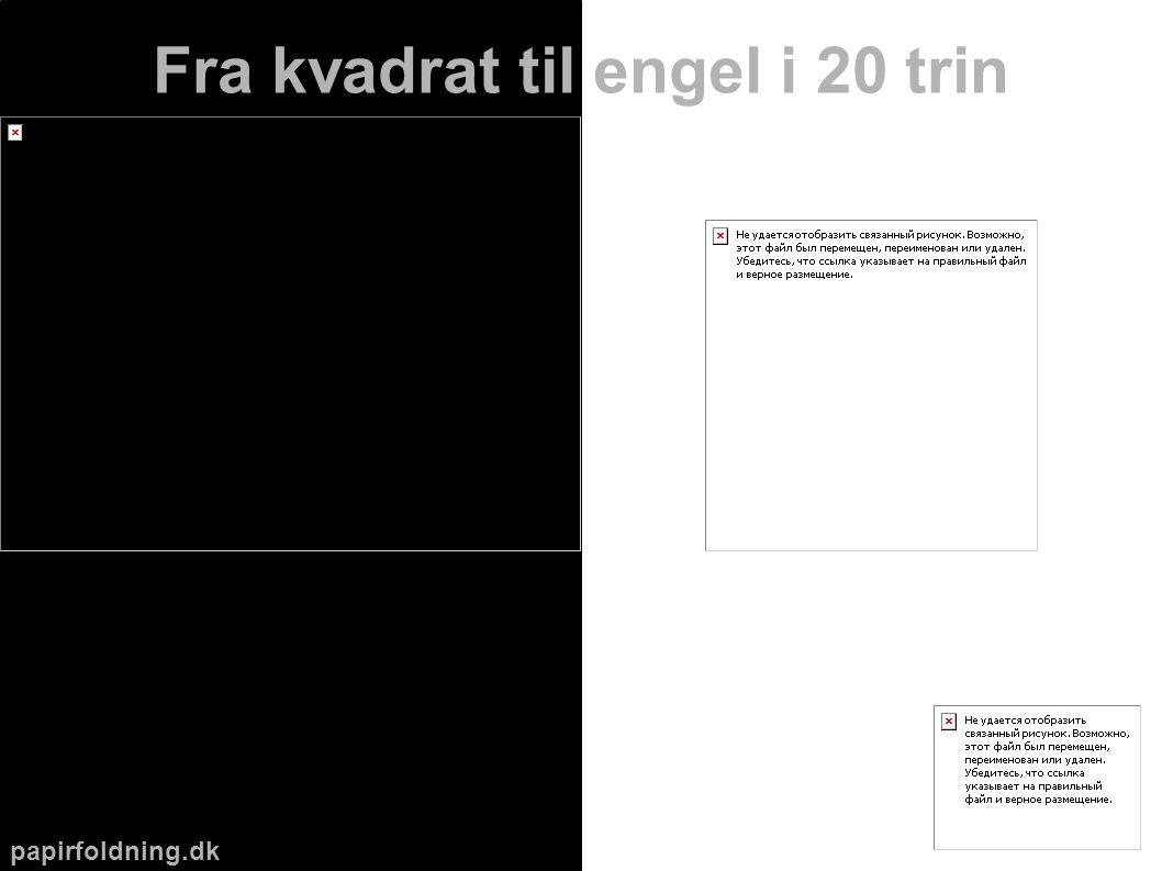 papirfoldning.dk Fra kvadrat til engel i 20 trin