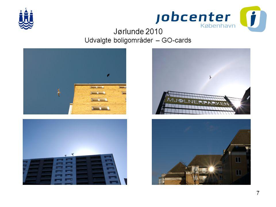 7 Jørlunde 2010 Udvalgte boligområder – GO-cards