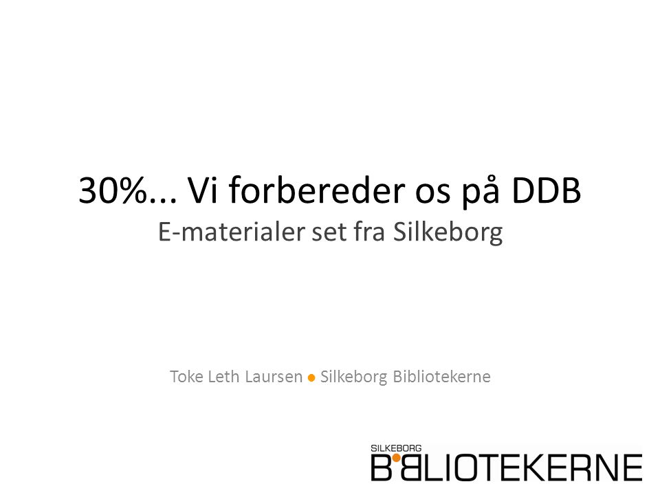 30%...