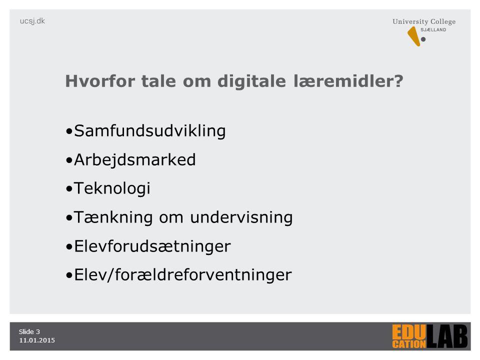 Hvorfor tale om digitale læremidler.