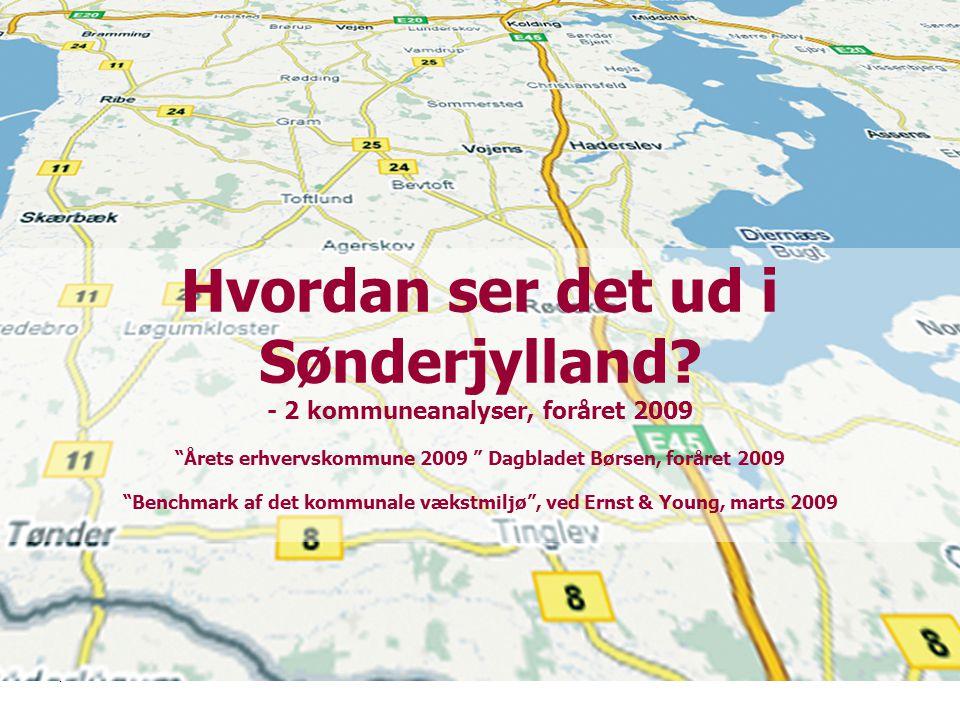 | 3| 3 Hvordan ser det ud i Sønderjylland.