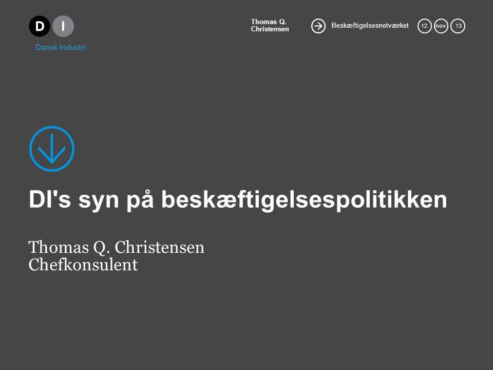 Beskæftigelsesnetværket Thomas Q. Christensen 12.nov.