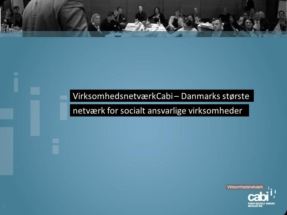 VirksomhedsnetværkCabi – Danmarks største netværk for socialt ansvarlige virksomheder 1