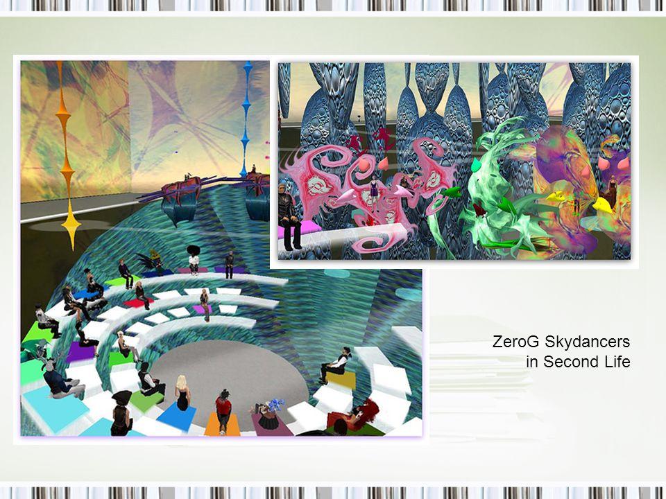 ZeroG Skydancers in Second Life