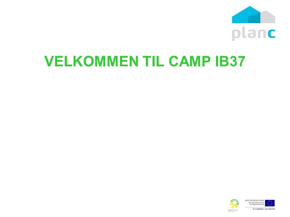 VELKOMMEN TIL CAMP IB37