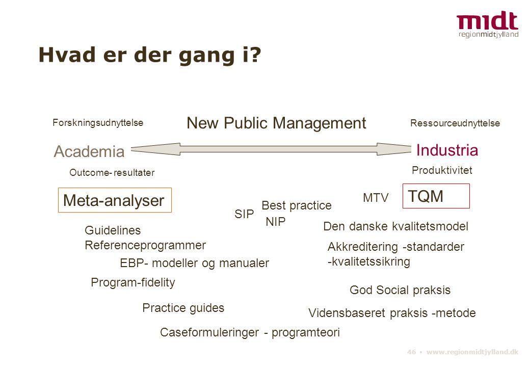 46 ▪ www.regionmidtjylland.dk Hvad er der gang i.