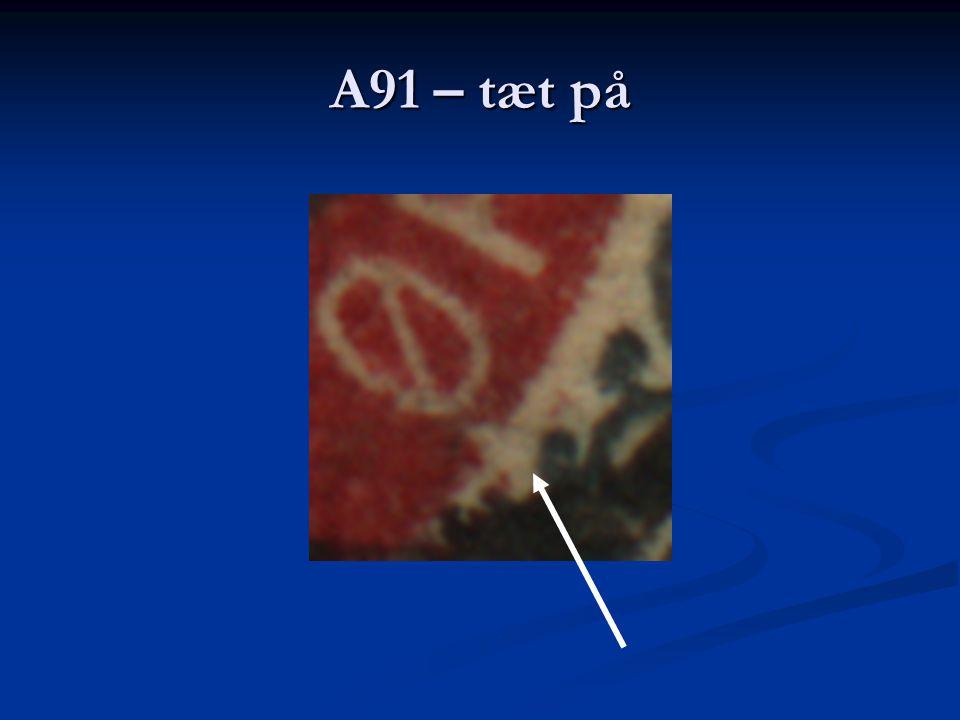 A91 – tæt på