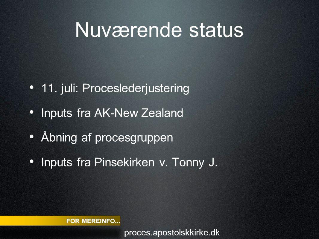 Nuværende status 11.