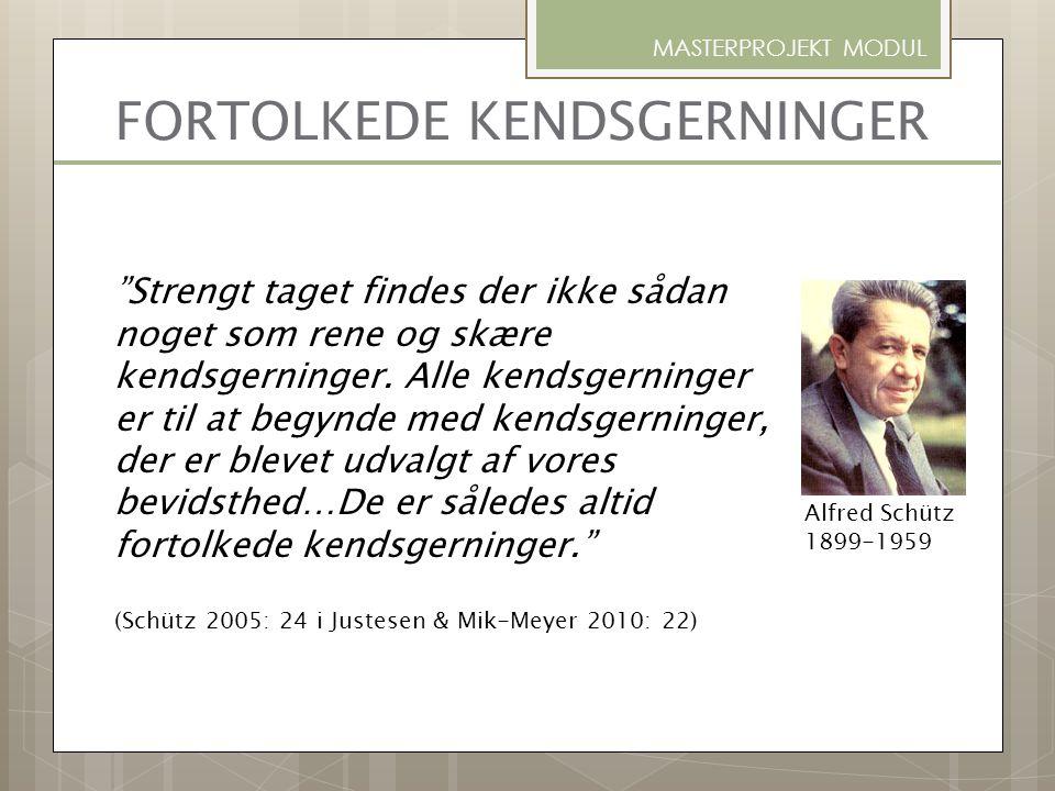 SYSTEMISK INTERVIEW-METODIK MASTERPROJEKT MODUL Karl Tomm, Canadisk prof. i psykiatri, (1997)
