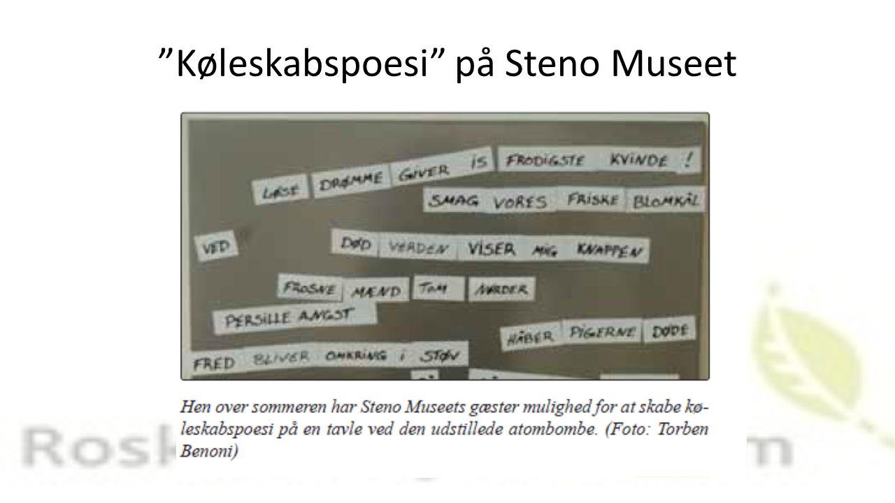 Køleskabspoesi på Steno Museet