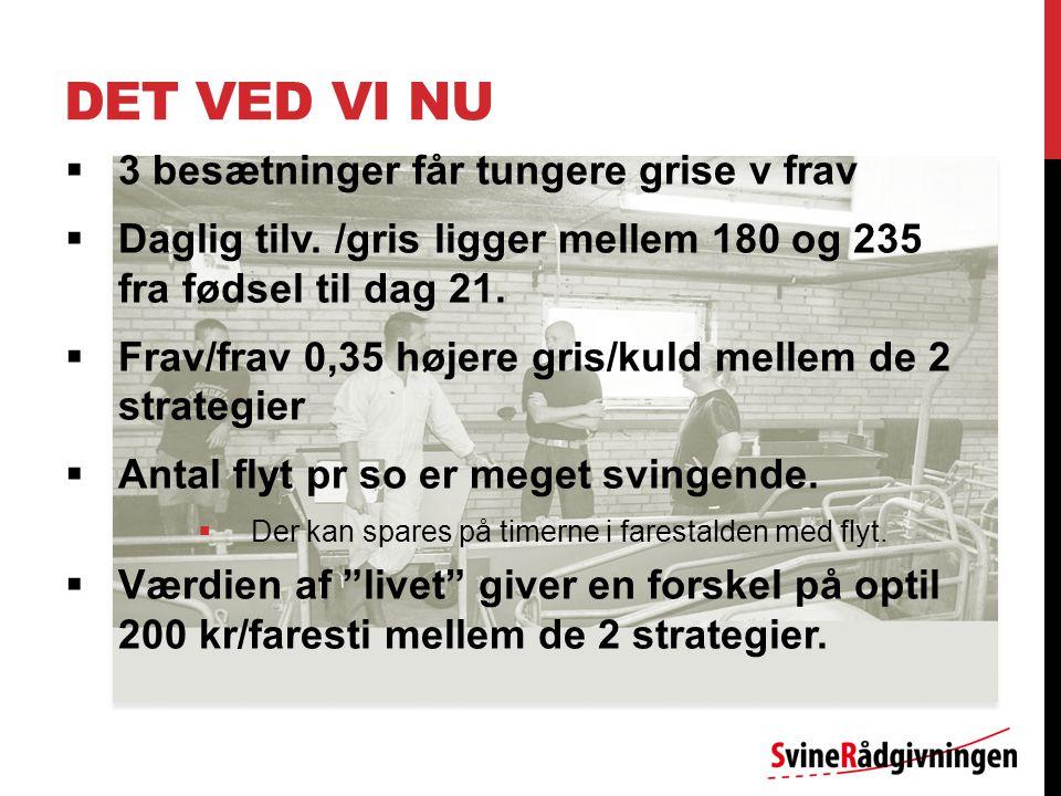 DET VED VI NU  3 besætninger får tungere grise v frav  Daglig tilv.