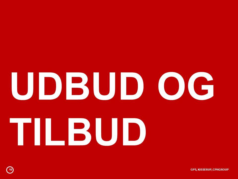 10GPS, KISSERUP, CPHGROUP UDBUD OG TILBUD