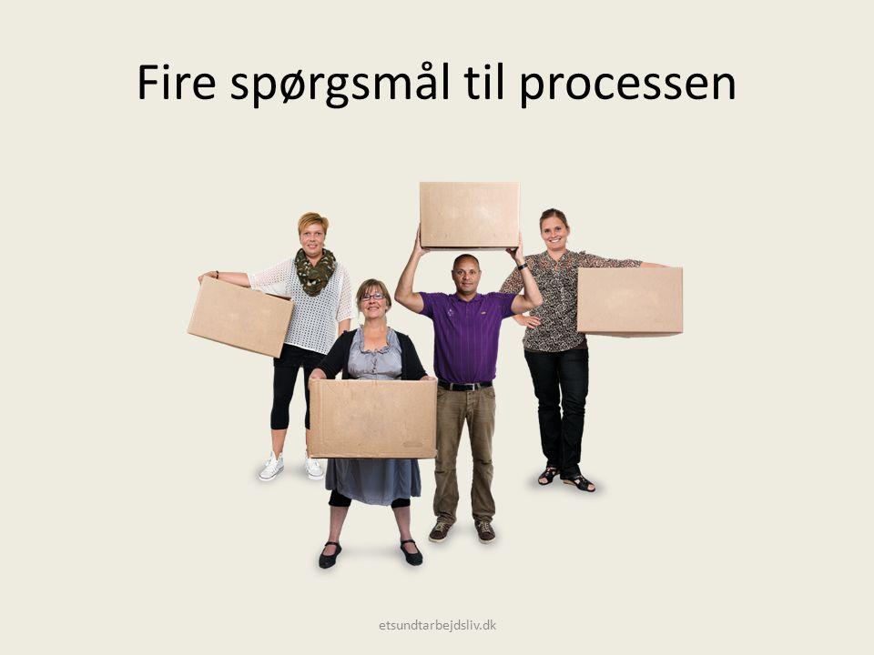 Fire spørgsmål til processen etsundtarbejdsliv.dk