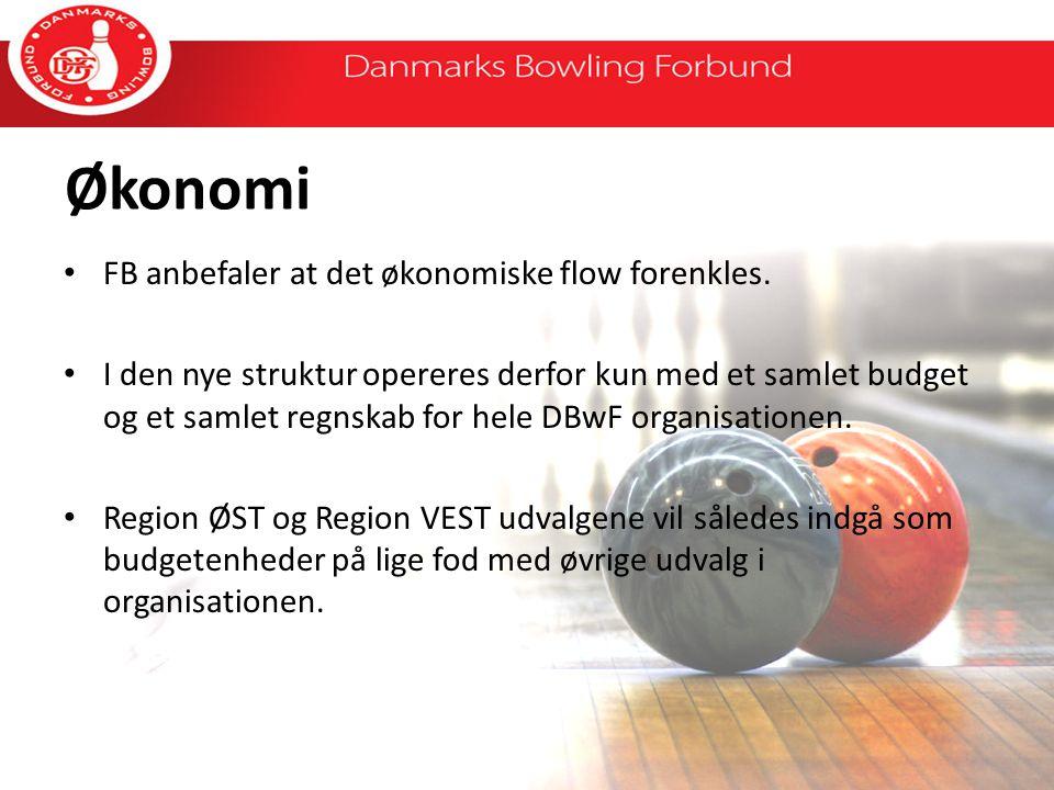 Økonomi FB anbefaler at det økonomiske flow forenkles.