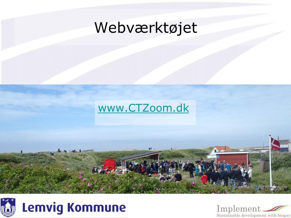 Webværktøjet Foto: Lemvig Kommune www.CTZoom.dk