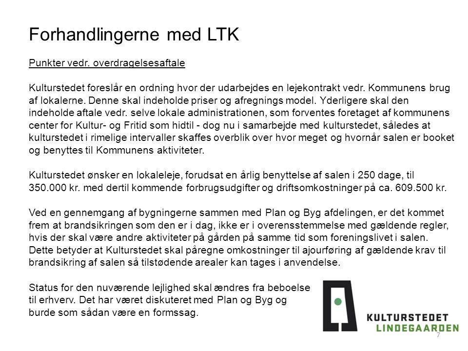 Forhandlingerne med LTK 7 Punkter vedr.