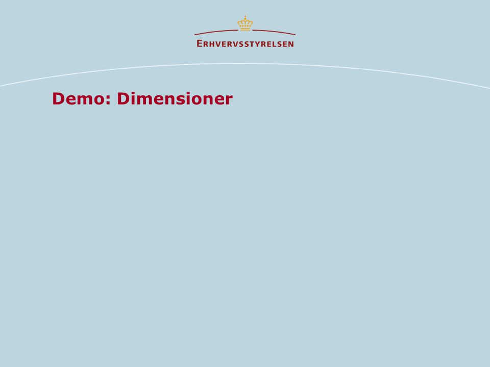 Demo: Dimensioner