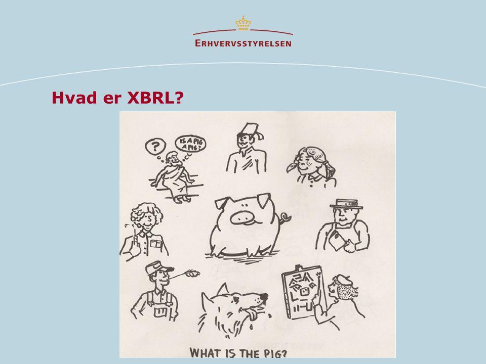 Hvad er XBRL