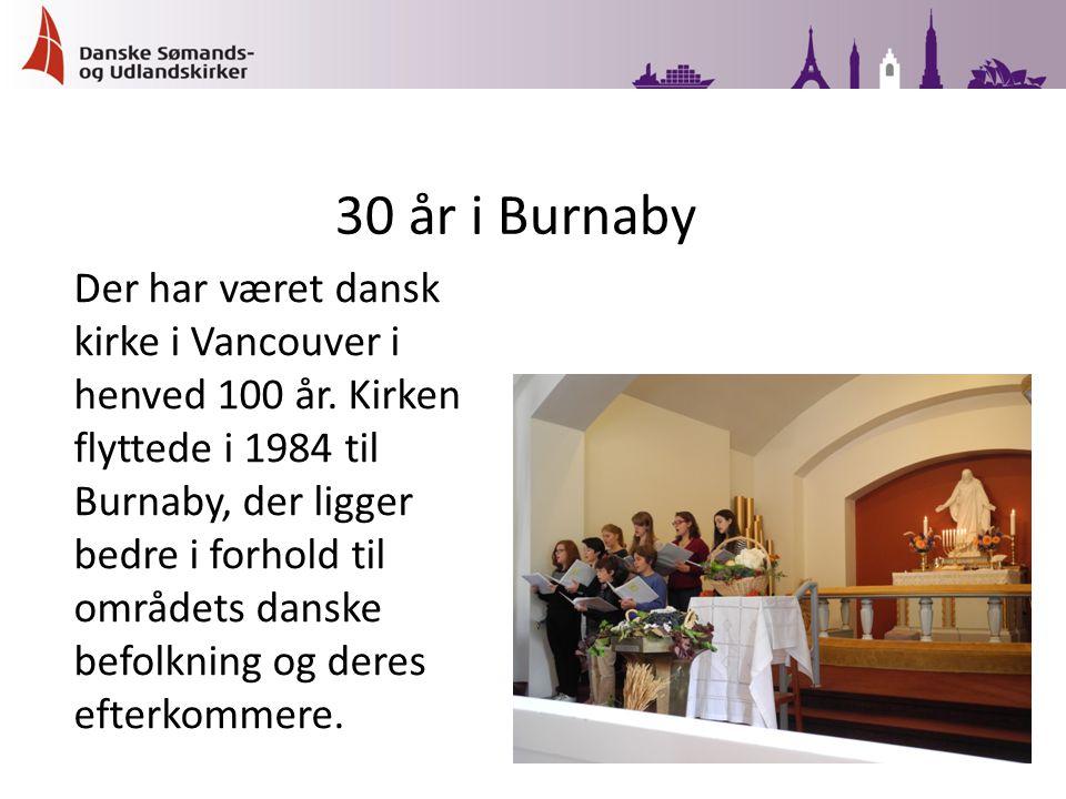 Der har været dansk kirke i Vancouver i henved 100 år.