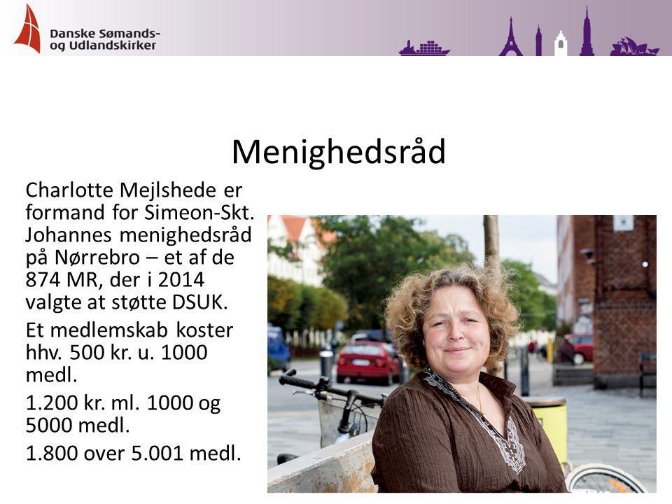 Charlotte Mejlshede er formand for Simeon-Skt.
