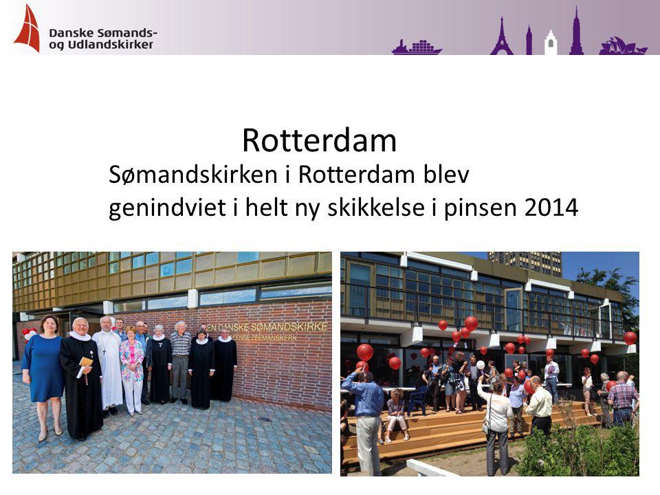 Sømandskirken i Rotterdam blev genindviet i helt ny skikkelse i pinsen 2014 Rotterdam