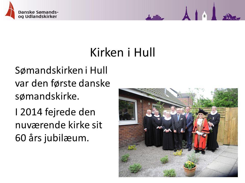 Sømandskirken i Hull var den første danske sømandskirke.