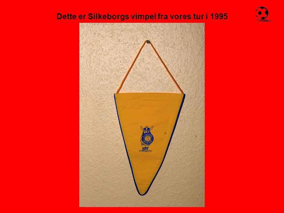 Dette er Silkeborgs vimpel fra vores tur i 1995