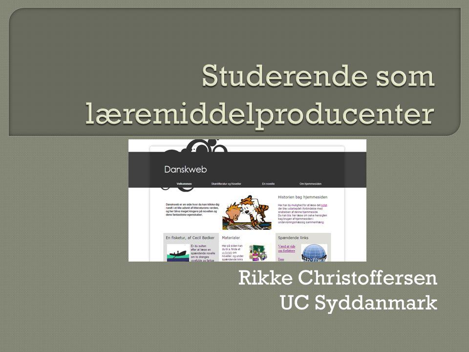Rikke Christoffersen UC Syddanmark