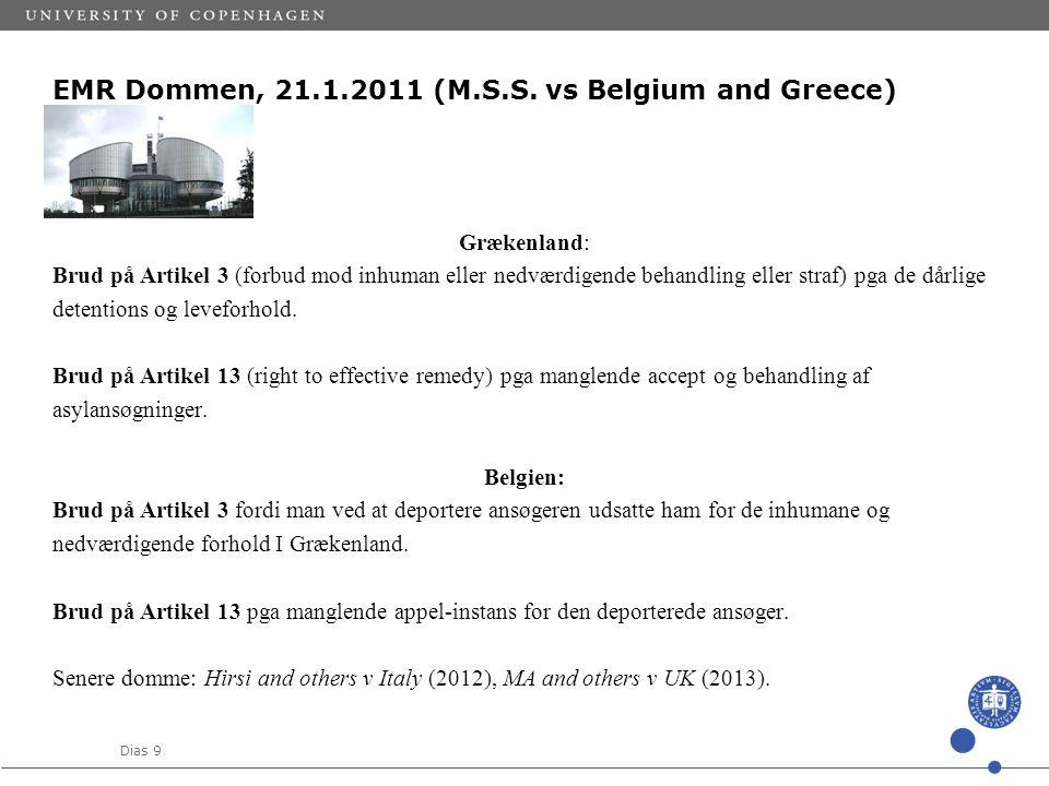 Dias 9 EMR Dommen, 21.1.2011 (M.S.S.