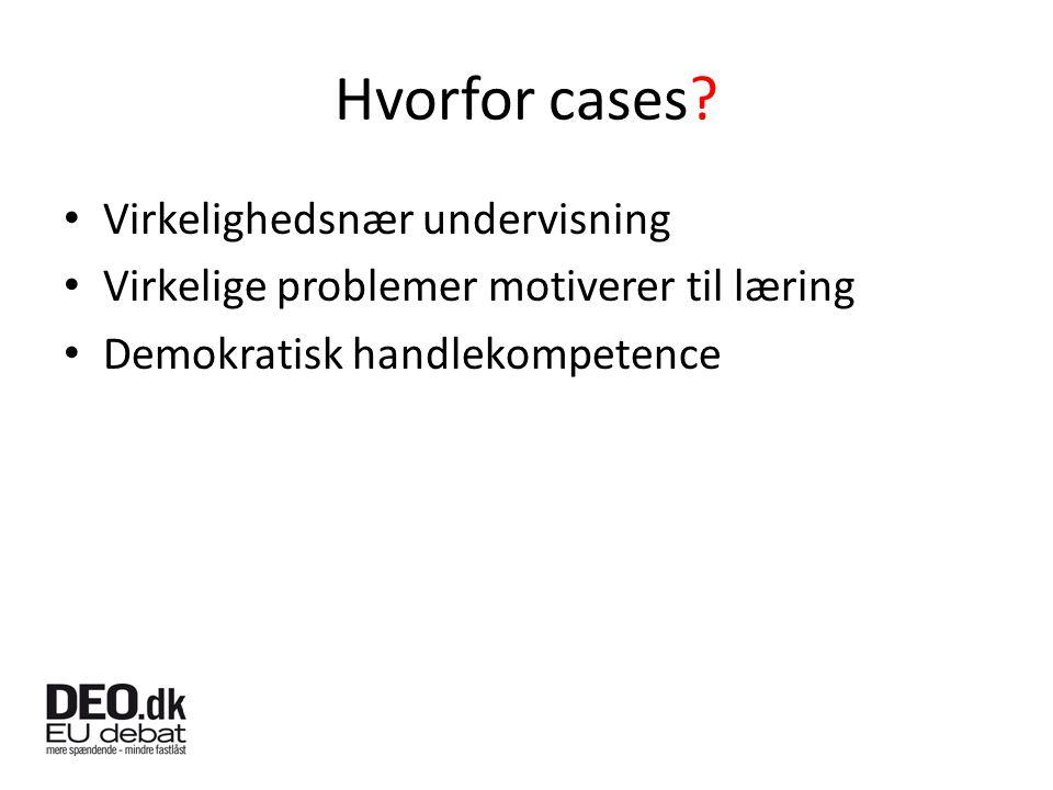 Hvorfor cases.