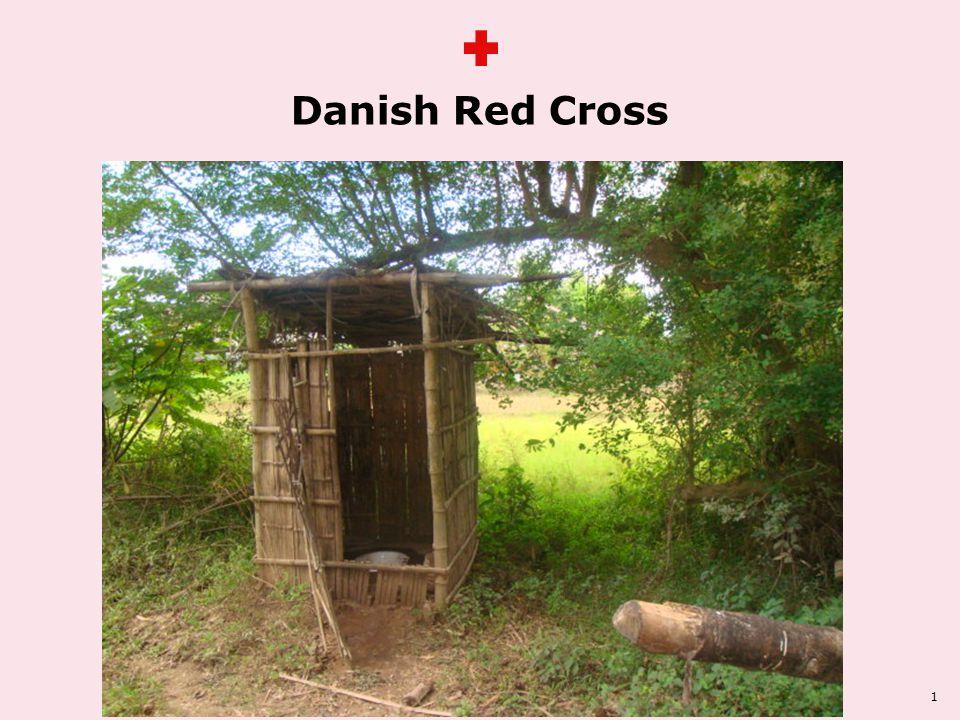 Animation på teksten Danish Red Cross 1 ss