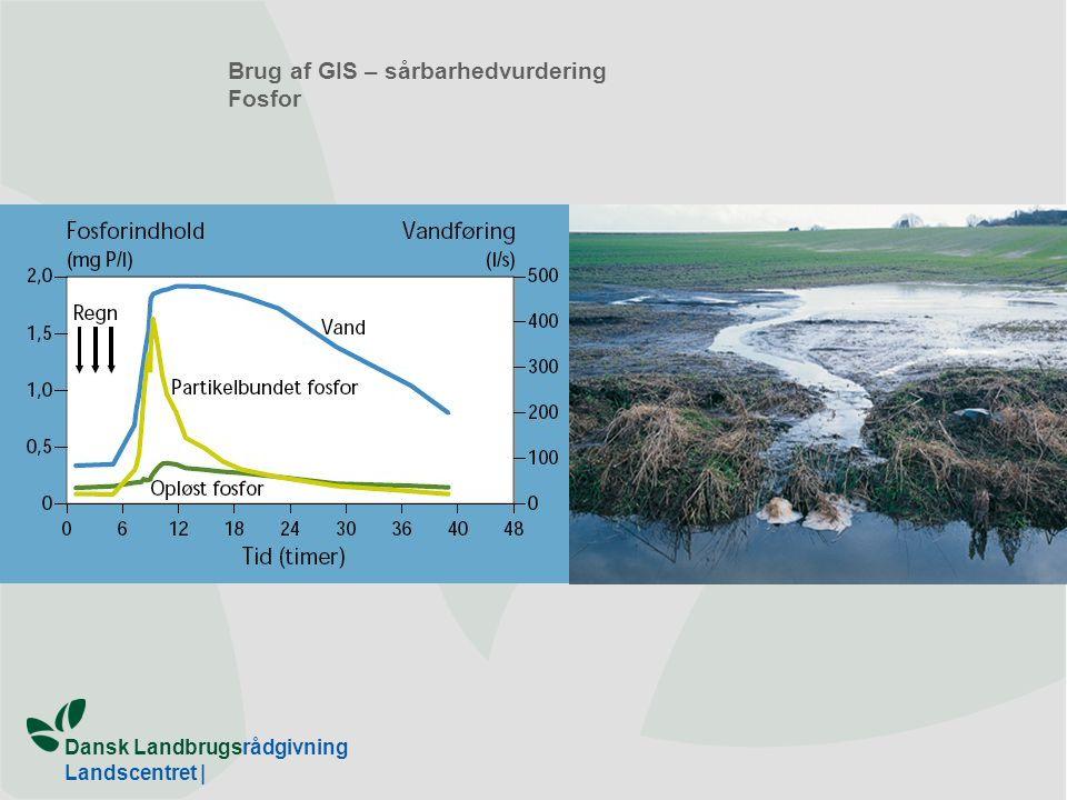 Dansk Landbrugsrådgivning Landscentret | Brug af GIS – sårbarhedvurdering Fosfor
