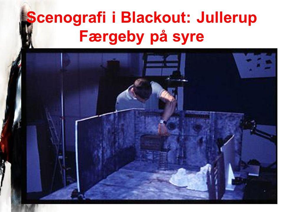 Scenografi i Blackout: Jullerup Færgeby på syre