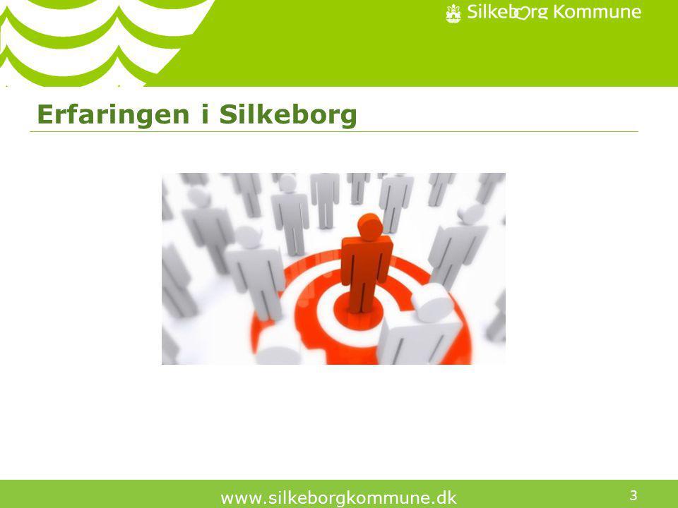 3 www.silkeborgkommune.dk Erfaringen i Silkeborg