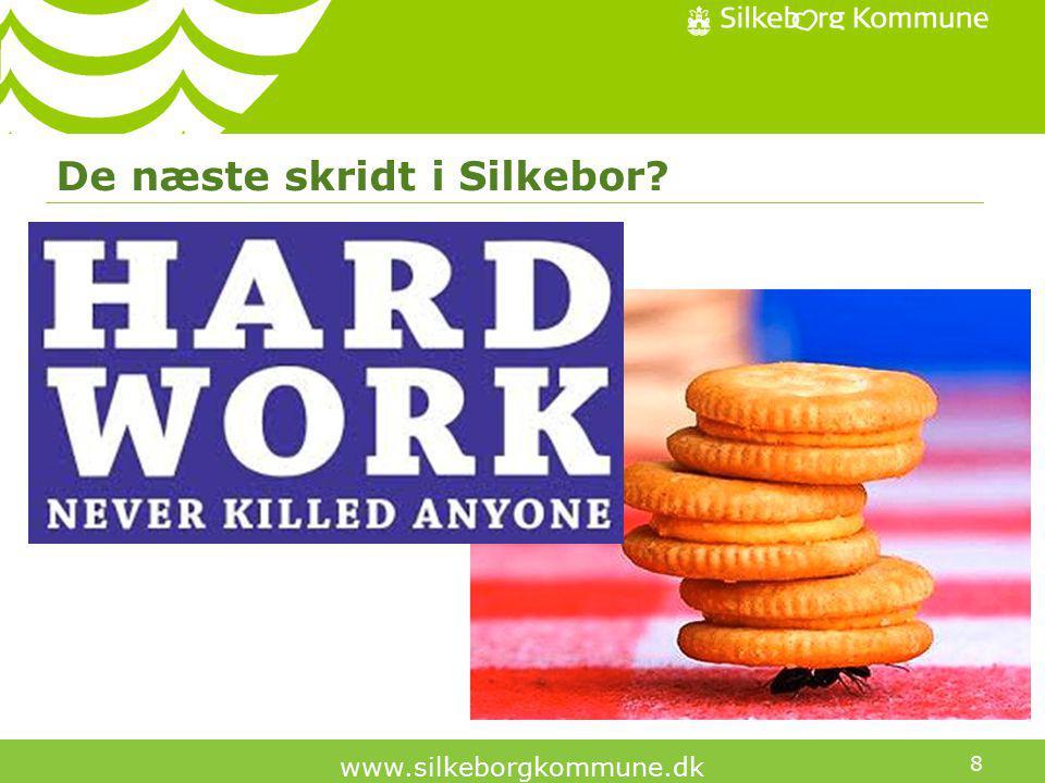 8 www.silkeborgkommune.dk De næste skridt i Silkebor