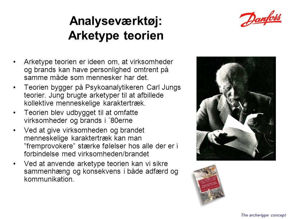 Arketype teorien er ideen om, at virksomheder og brands kan have personlighed omtrent på samme måde som mennesker har det.