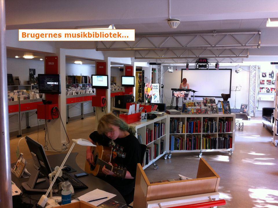 Brugernes musikbibliotek…