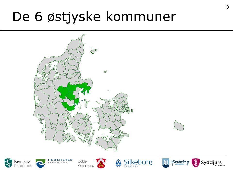 De 6 østjyske kommuner 3