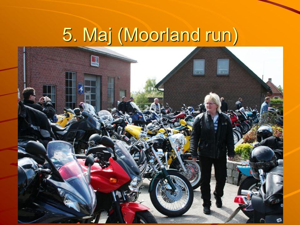 5. Maj (Moorland run)