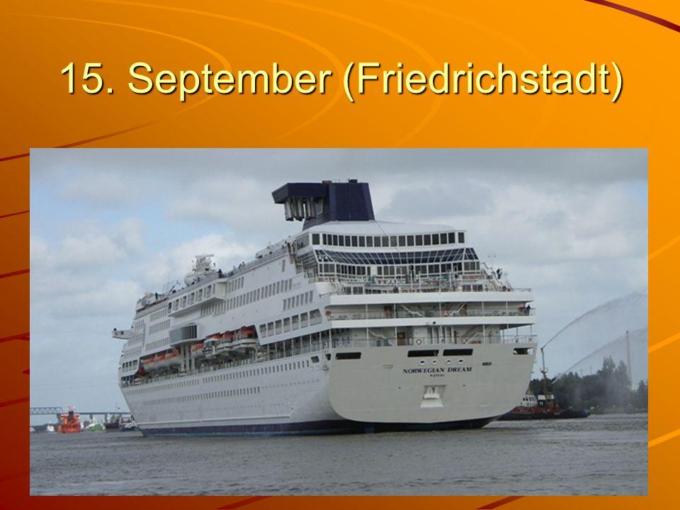 15. September (Friedrichstadt)