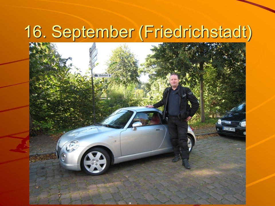 16. September (Friedrichstadt)