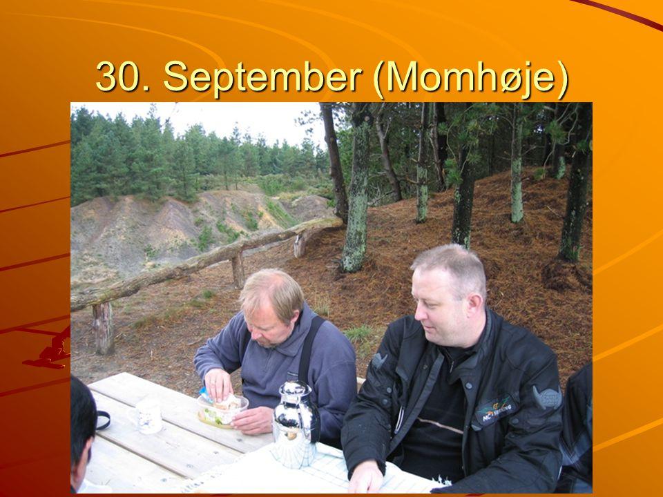 30. September (Momhøje)