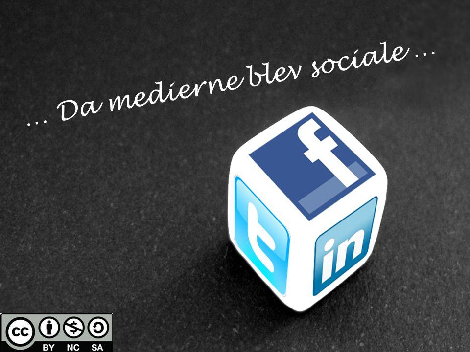 … Da medierne blev sociale …