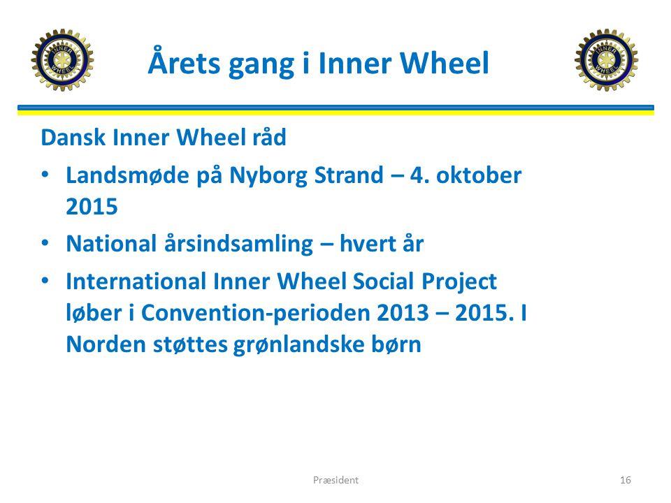 Årets gang i Inner Wheel Dansk Inner Wheel råd Landsmøde på Nyborg Strand – 4.